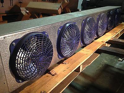 New Walk In Freezer Electric Defrost Evaporator 20400 Btus 208230v Ec 404a