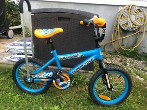 Vélo 16 po avec barre / 16 inch kid bike with learning bar