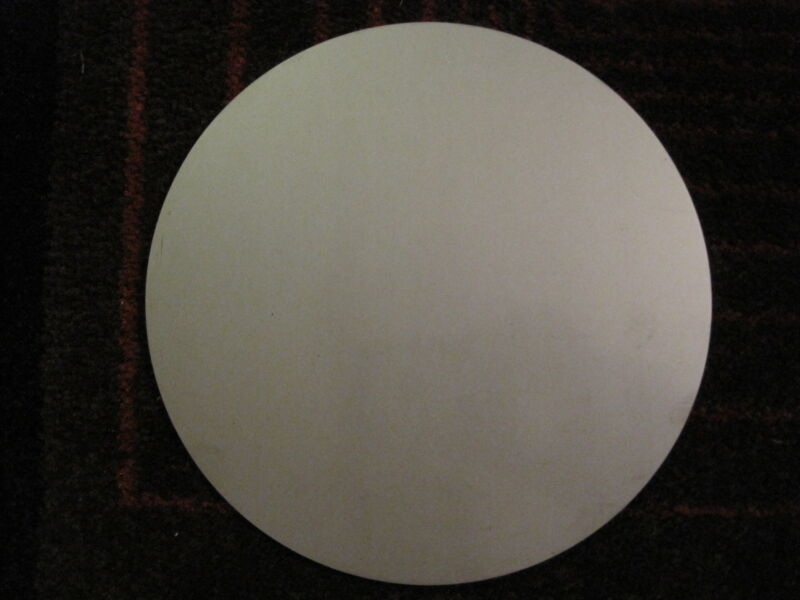 "1/8"" (.125) Stainless Steel Disc x 6-3/8"" Diameter, 304 SS, Round, Circle"