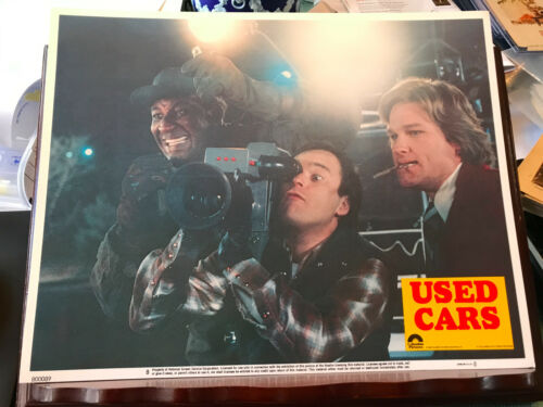 Used Cars 1980 Columbia lobby card Kurt Russell Joe Flaherty Frank McCrae