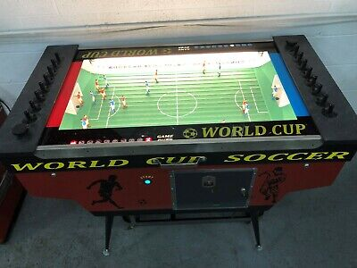 RARE Fully Restored 1968 Bally World Cup Soccer Arcade Table Coin Operated FUN!!