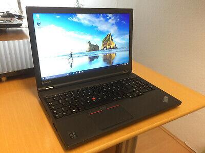 MOBILE WORKSTATION LENOVO THINKPAD W541 4-KERNE i7-CPU 16GB-RAM 240GB-SSD WEBCAM