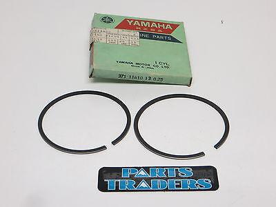 NOS Yamaha Piston Rings XS TX 500 XS500 TX500 371-11610-13-00 .25 Over