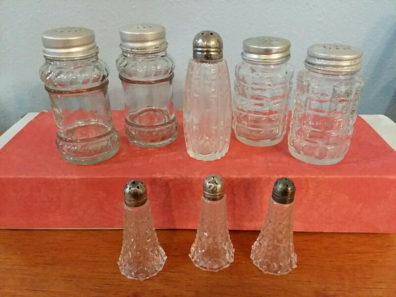 Vintage Salt and Pepper Shakers Mixed Lot