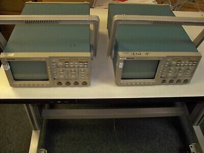 Tektronix Tds 460a 4 Channel 400mhz 100mss Oscilloscope - Calibrated
