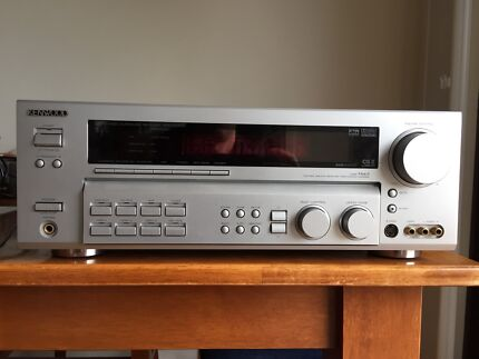 AV receiver & stereo speakers