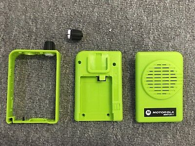 New Motorola Minitor V 5 Pager Housing Case Refurbishing Kit-apx Green Sv Model