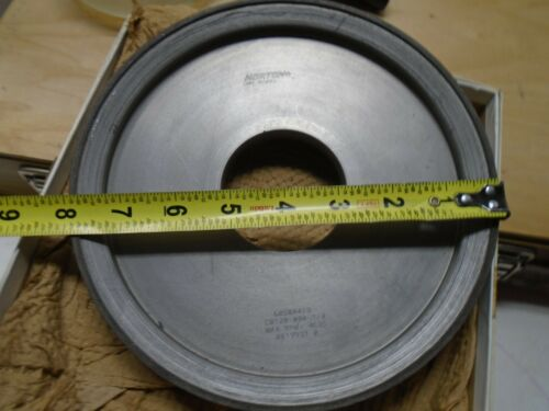 "NORTON CBN GRINDING WHEEL 8"" X 1"" X 2-1/2""  CB120-WBA-1/8"