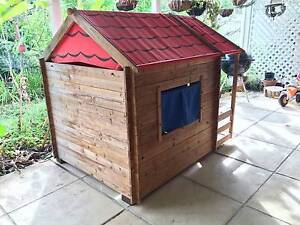 Perfect Christmas Wish: A Wooden Cubby House for a  2-4 year old Kenmore Brisbane North West Preview