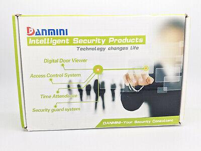 Danmini 2.4inch Biometric Fingerprint Password Access Attendance Time Clock