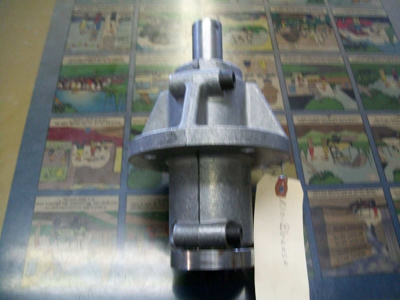 Finish Mower Spindle Assembly : Spindle assembly oem fred cain suburban mowers fm