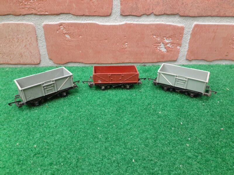Triang Railways TT Gauge Freight Mineral Wagons Lot of 3
