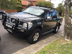 Nissan Navara D40 4x4 turbo diesel dark grey Kogarah Rockdale Area Preview