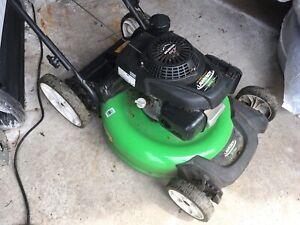Lawnboy powered by Honda lawnmower
