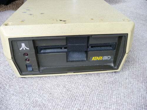 Atari 810 Disc Drive with Original Happy Enhancement