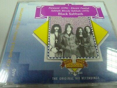 Black Sabbath – Paranoid/Electric Funeral  1988  1ST AUSTRIA + ADAPTER MAXI-CD!