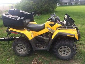 2007 Can-am Outlander 800 XT