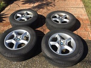 """Genuine BMW X5 4 x 17"""" Wheels & Michelin Tyres Marsfield Ryde Area Preview"""