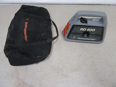 Radiodetection Rd400 Transmitter Carry Tool Bag Works Radio Detection