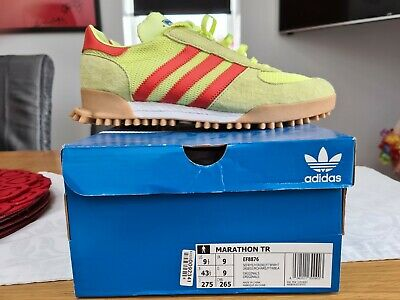 Adidas Marathon TR Size 9 UK - Worn Once - with box and tags