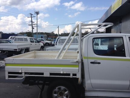 Dual cab hilux steel tray  Arundel Gold Coast City Preview