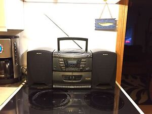 Vintage Sony CFD-ZW160 Ghetto Blaster Boombox Cassette Tape CD