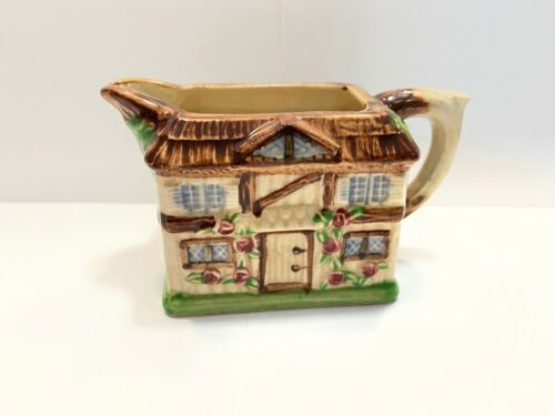 Vintage Made In Japan House Shaped Teapot *Mini Teapot* (Made In The 1960s)