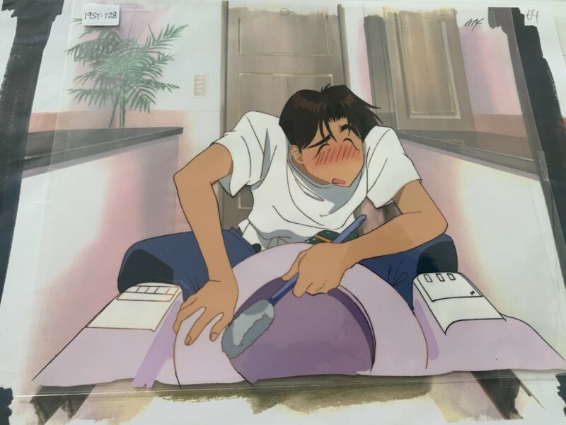 Golden Boy OVA Anime cel (Mint and Curated)