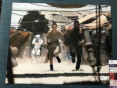 Star Wars Force Awakens Daisy Ridley Autographed Signed 11X14 Photo Jsa Coa  2