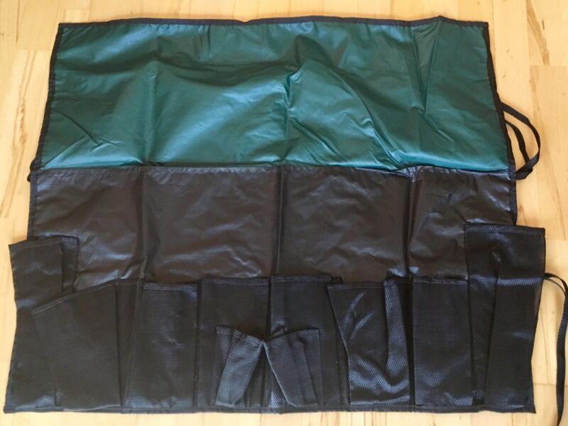 Outdoor Multi-Purpose 10-Pocket Hanging Storage Drying Camping Bag Tool Utensil