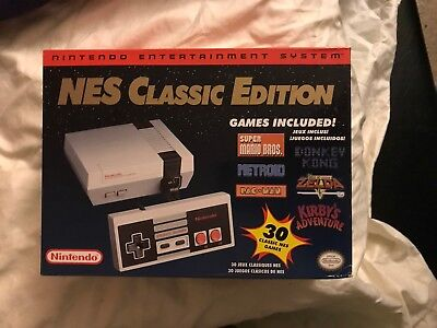 Nintendo Entertainment System NES Classic Edition 30 Games Retro Damn From Past