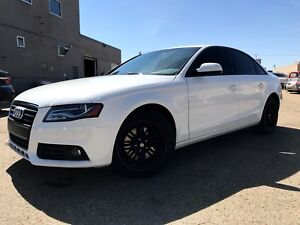 2012 Audi A4 Quattro 6 Speed / Injen Intake / Finance Available