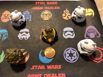 Angry Birds Star Wars Han Solo Lot