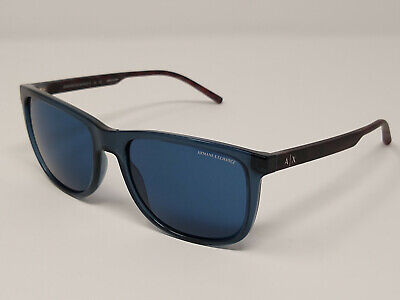 Armani Exchange Men's Classic Square Sunglasses - AX4070S 82388