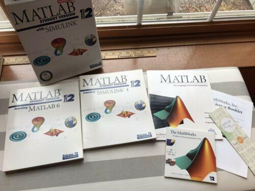 MATLAB 6 Student Version SIMULINK 4 release 12 Instructor Evaluation 2001 CD