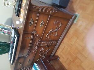 Solid handmade hardwood chest