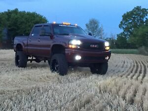 2006 Lifted GMC sierra Denali