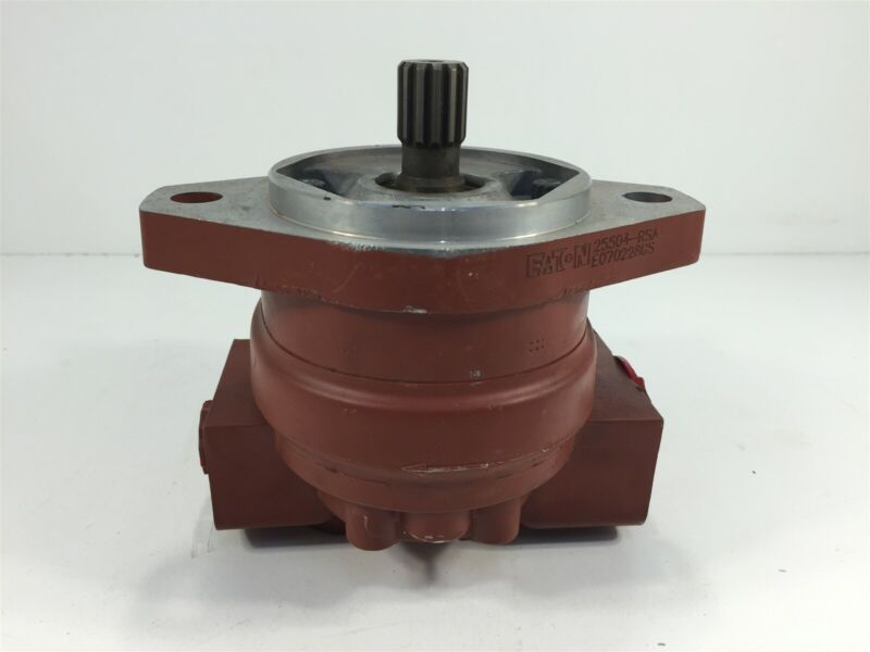 Eaton 25504-RSA Hydraulic Pump CW Rotation 13T 16/32 Spline
