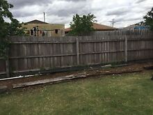 Free firewood fence and posts 16metres Kurunjang Melton Area Preview