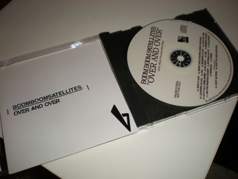 Boom Boom Satellites Over and Over CD 15 tracks plus two US Bonus Tracks