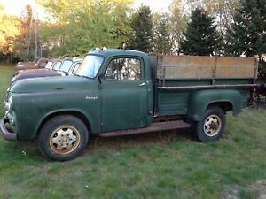 1954 Fargo 3/4 ton $2000 Not  running Winter project,Welderup!