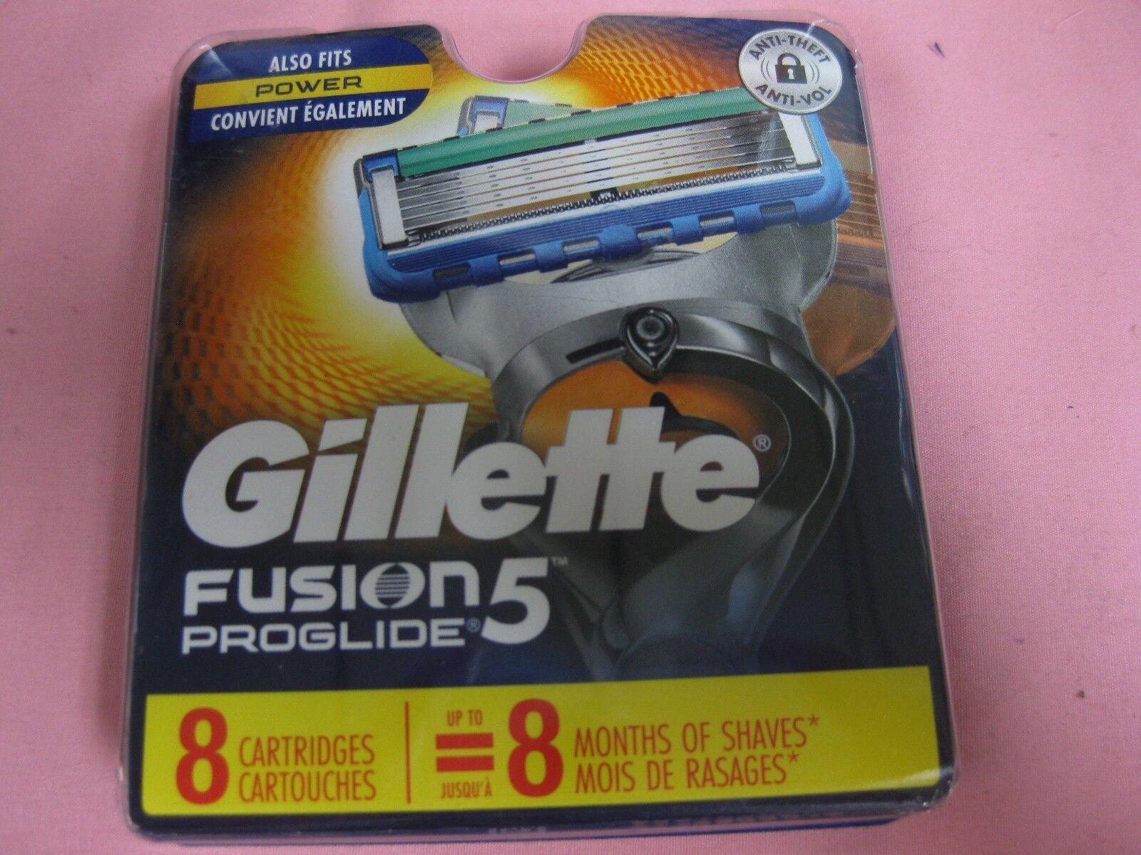 Gillette Fusion 5 Proglide Razor Refill Blades, 8 Cartridges