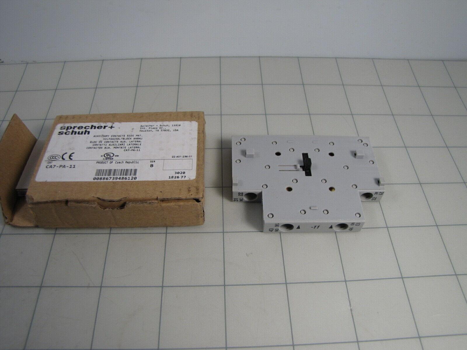 NHD CA1-D11 Aux CA1-D2P Contact Blocks Top Mtg