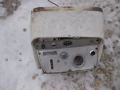 International Cub 154 Low Boy Ih Tractor Dash Panel Hood Cv W Gauges Switches