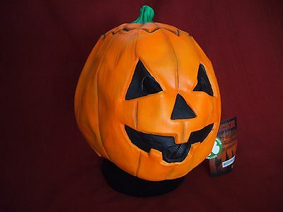 HALLOWEEN III 3 SEASON OF THE WITCH DON POST MAGIC PUMPKIN MASK SILVER SHAMROCK - Post Halloween Pumpkin