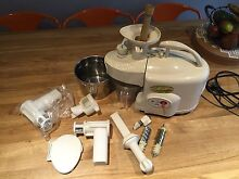 Kempo green power twin auger cold press juicer Scarborough Stirling Area Preview