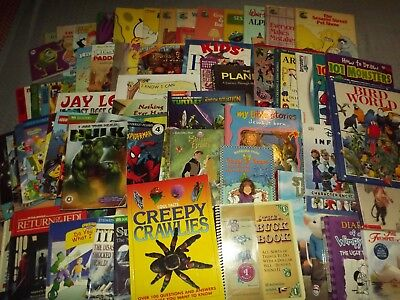 CHILDREN'S BOOKS PICK 10 FOR $9.99 VARIETY MIXED LOT AGES BABY TO YOUNG ADULTS