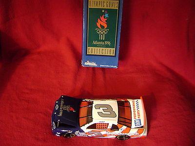 DALE  SR. #8 1996 GM GW OLYMPICS *RARE* 1/24 M.CARLO LE GREEN TOP BOX CWC