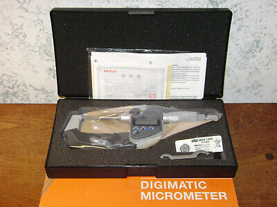 Mitutoyo 0-1 Inch Digital Blade Micrometer No 422-330-30 W Case - Sealed