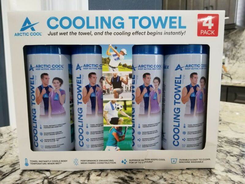 Arctic Cool Cooling Towel 4 Pack